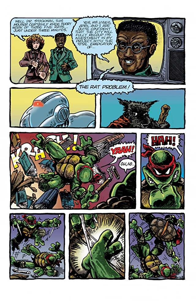 Teenage Mutant Ninja Turtles: Color Classics #2