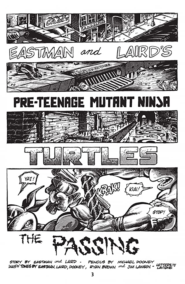 Teenage Mutant Ninja Turtles: Black & White Classics Vol. 3
