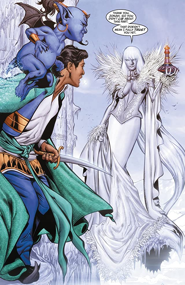 click for super-sized previews of Fairest #4