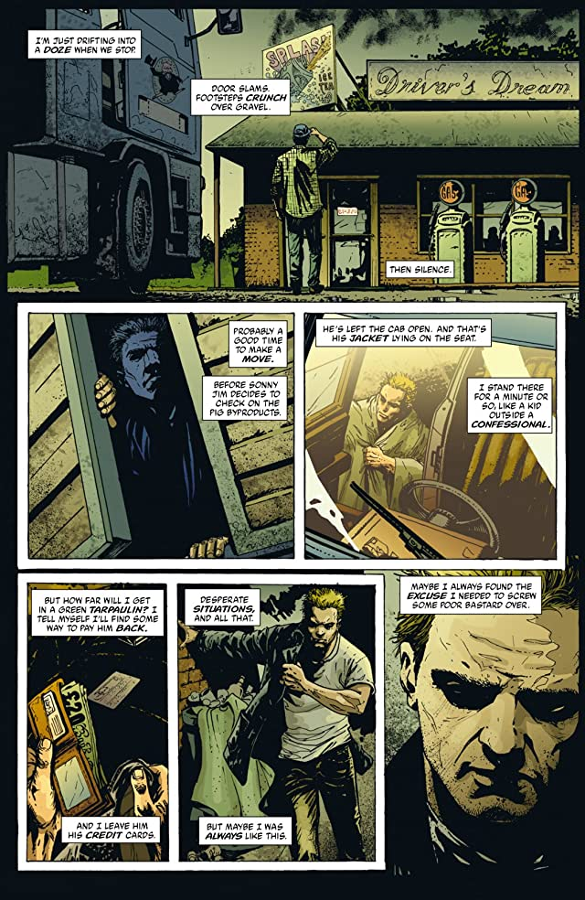 click for super-sized previews of Hellblazer #195