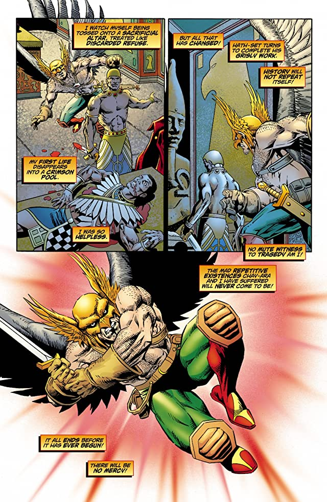 click for super-sized previews of Hawkman Special