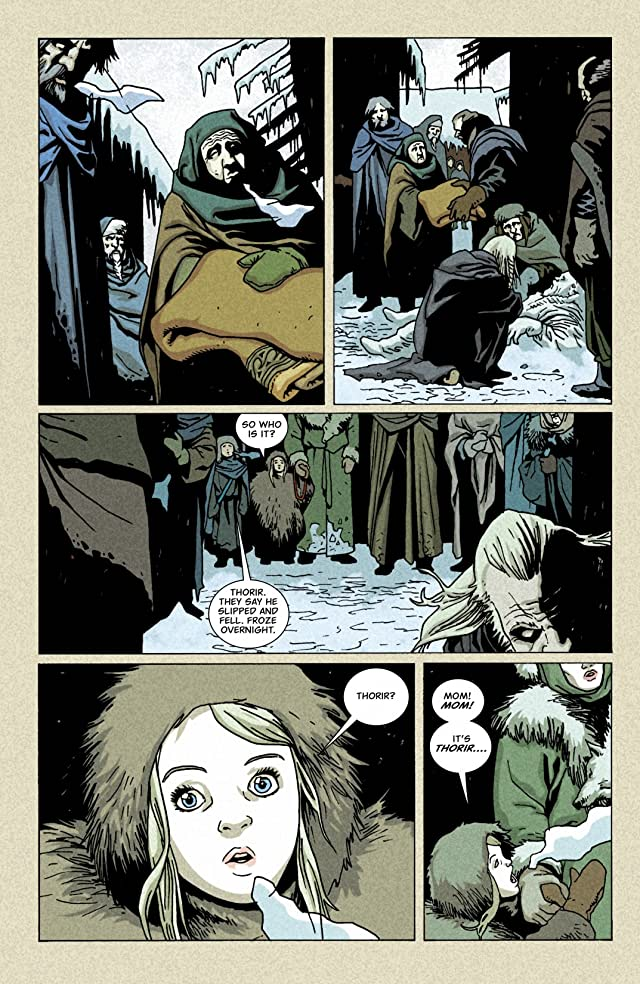click for super-sized previews of Northlanders #25