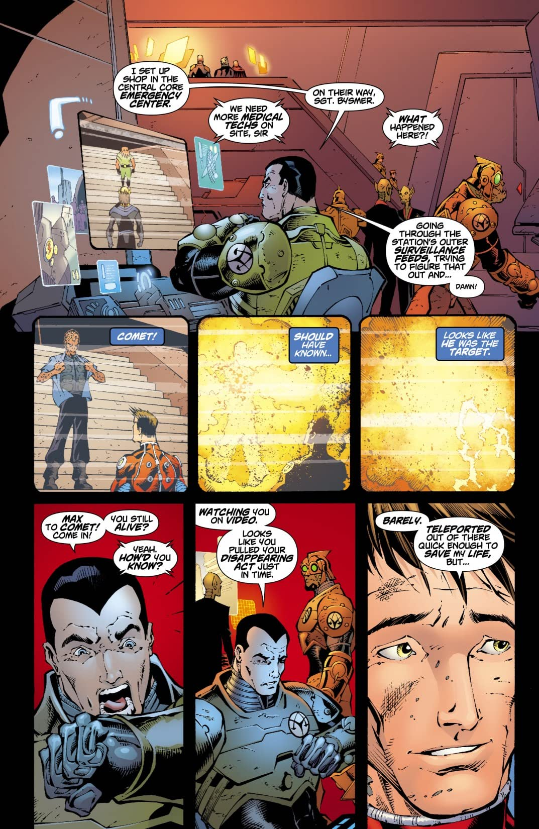 Rann-Thanagar Holy War #2 (of 8)