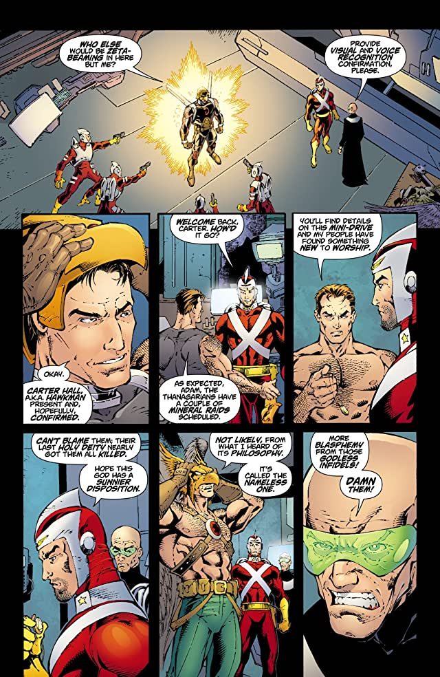 Rann-Thanagar Holy War #1 (of 8)