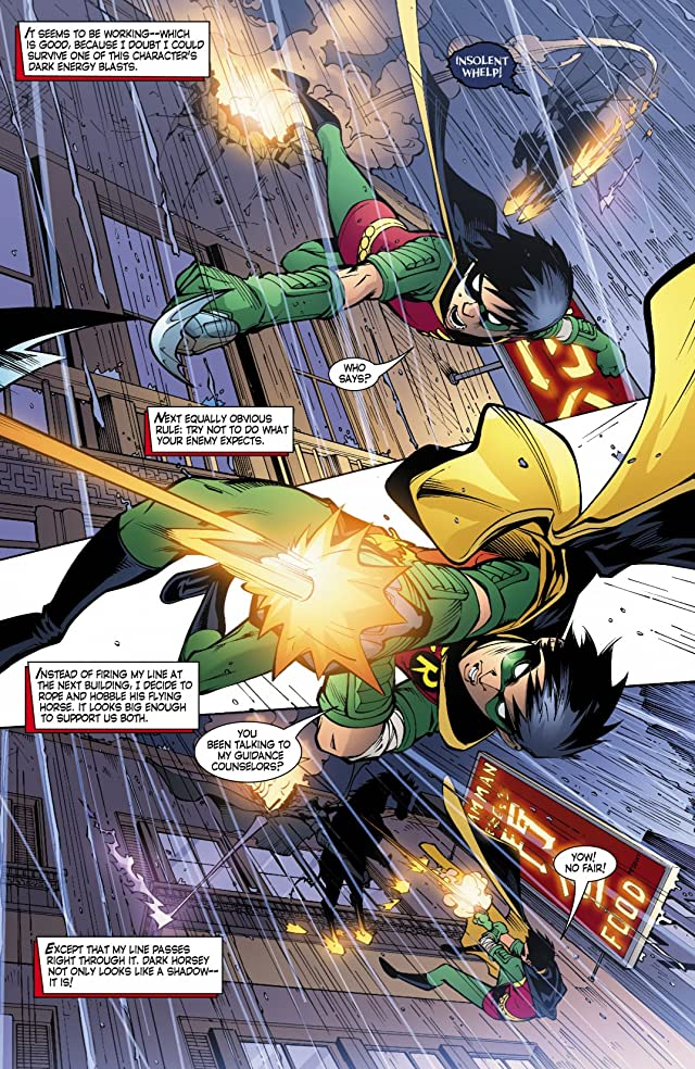 click for super-sized previews of Robin (1993-2009) #136