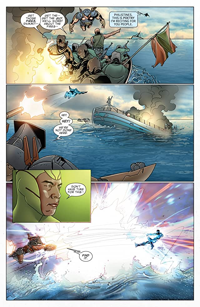 click for super-sized previews of Invincible Iron Man (2008-2012) #518