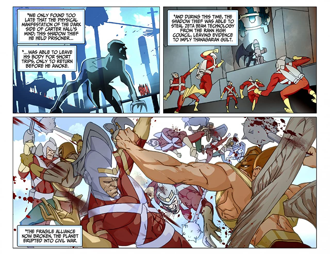 Justice League Beyond (2012-2013) #8