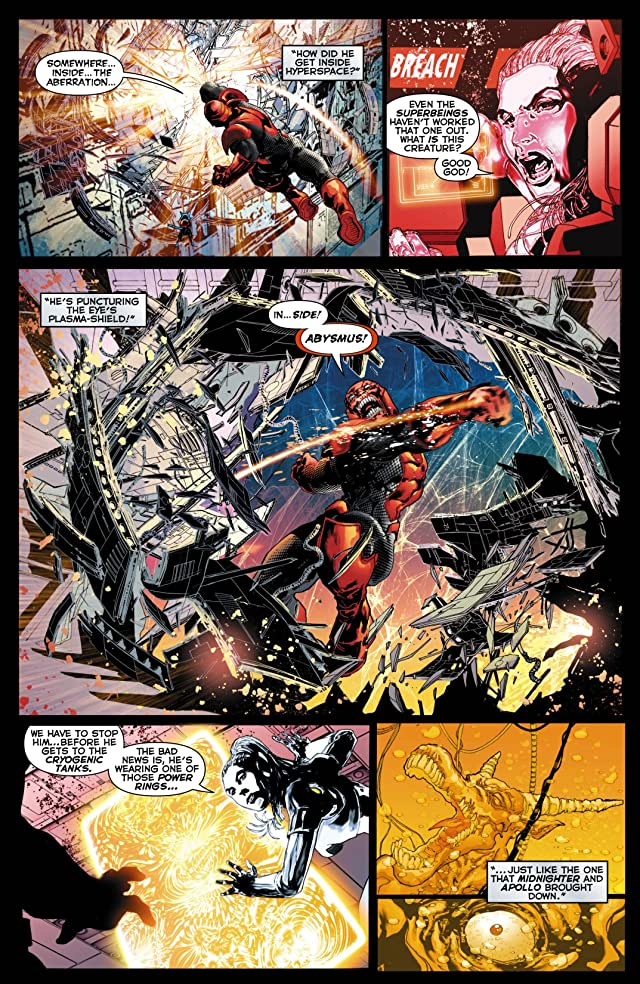 click for super-sized previews of Red Lanterns (2011-2015) #10