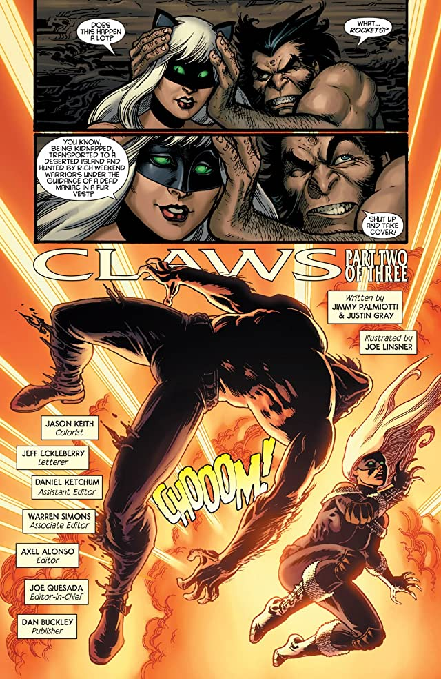 click for super-sized previews of Claws #2