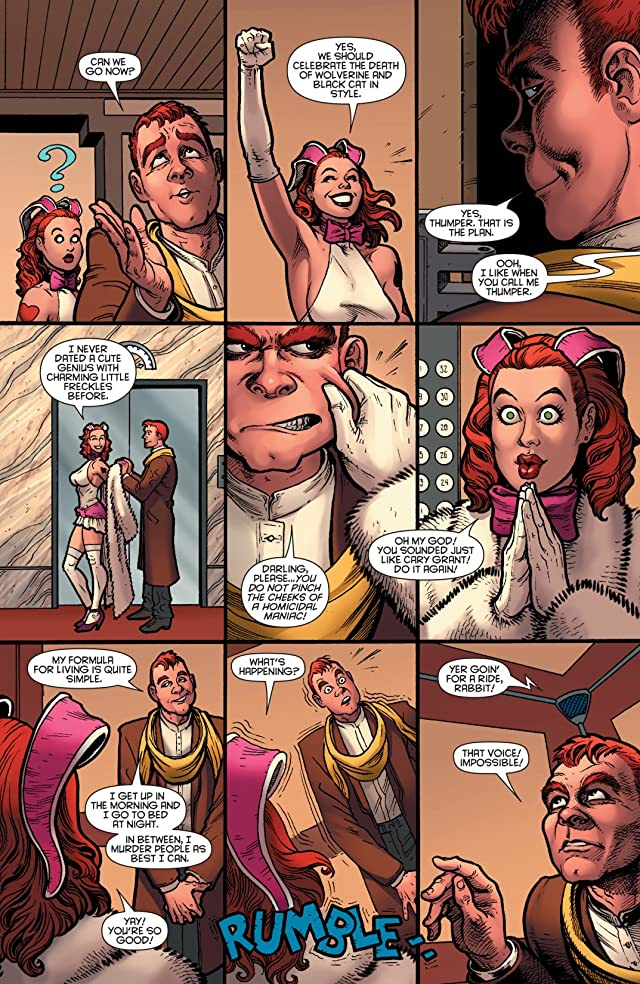 click for super-sized previews of Claws #3 (of 3)