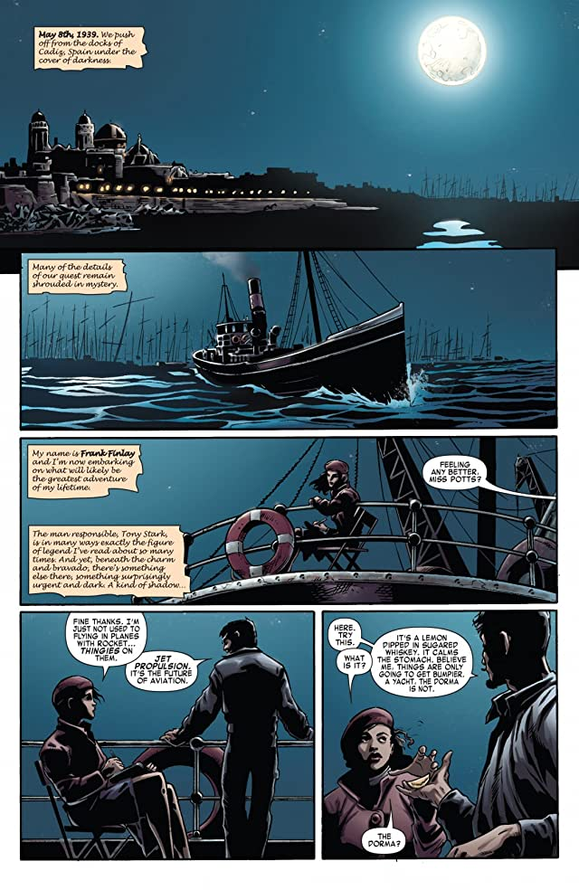 click for super-sized previews of Iron Man Noir #2