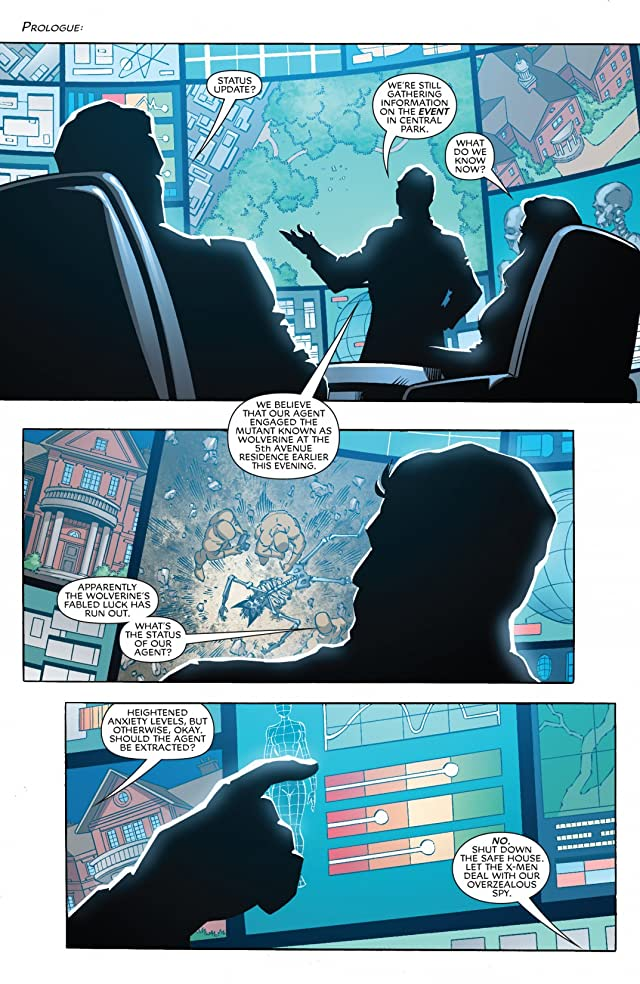click for super-sized previews of X-Men Forever #3