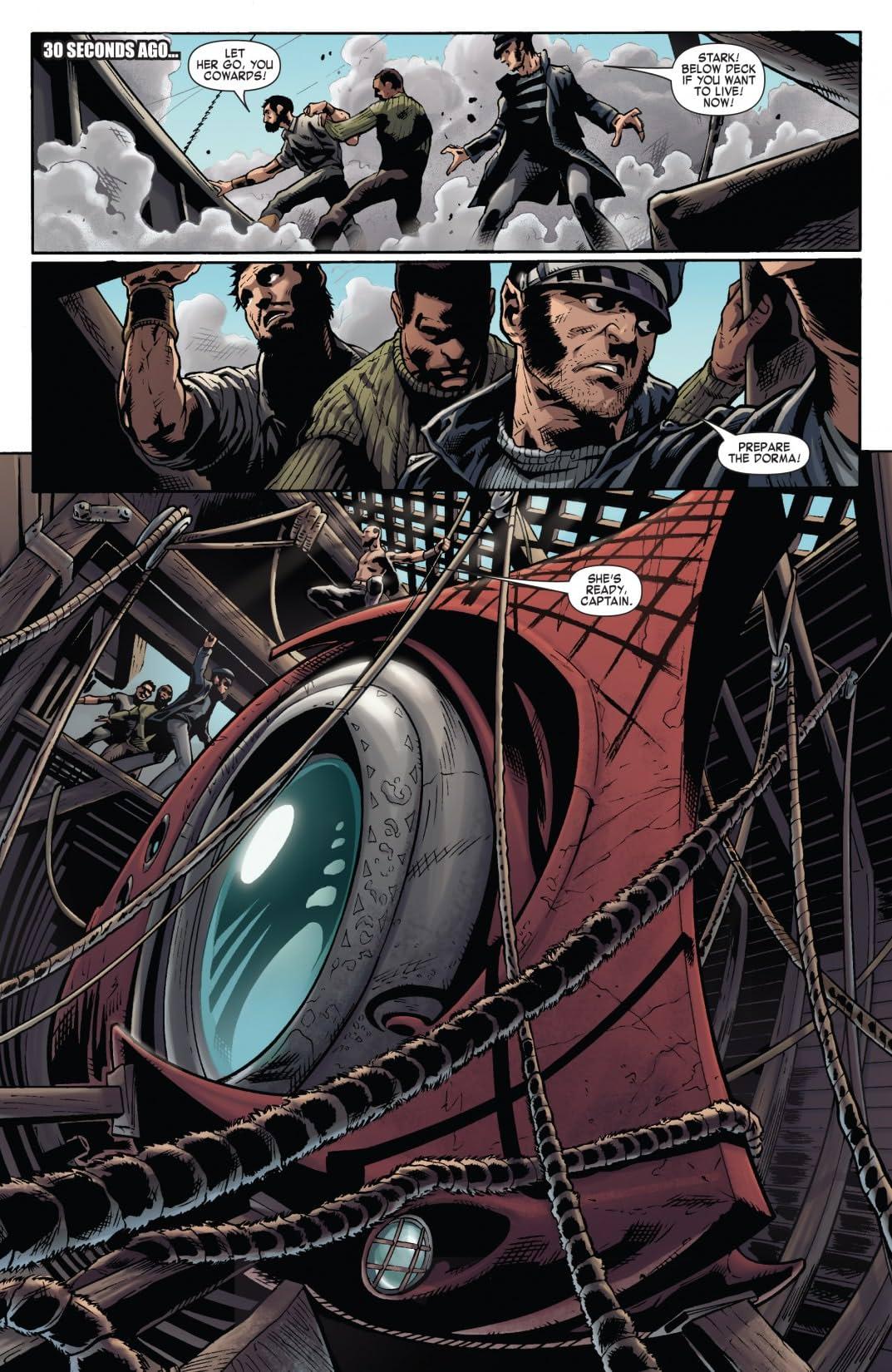 Iron Man Noir #3 (of 4)