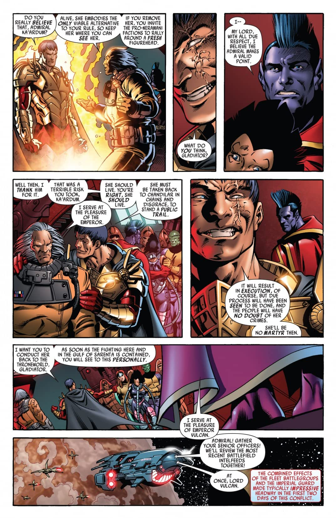 War of Kings #3 (of 6)