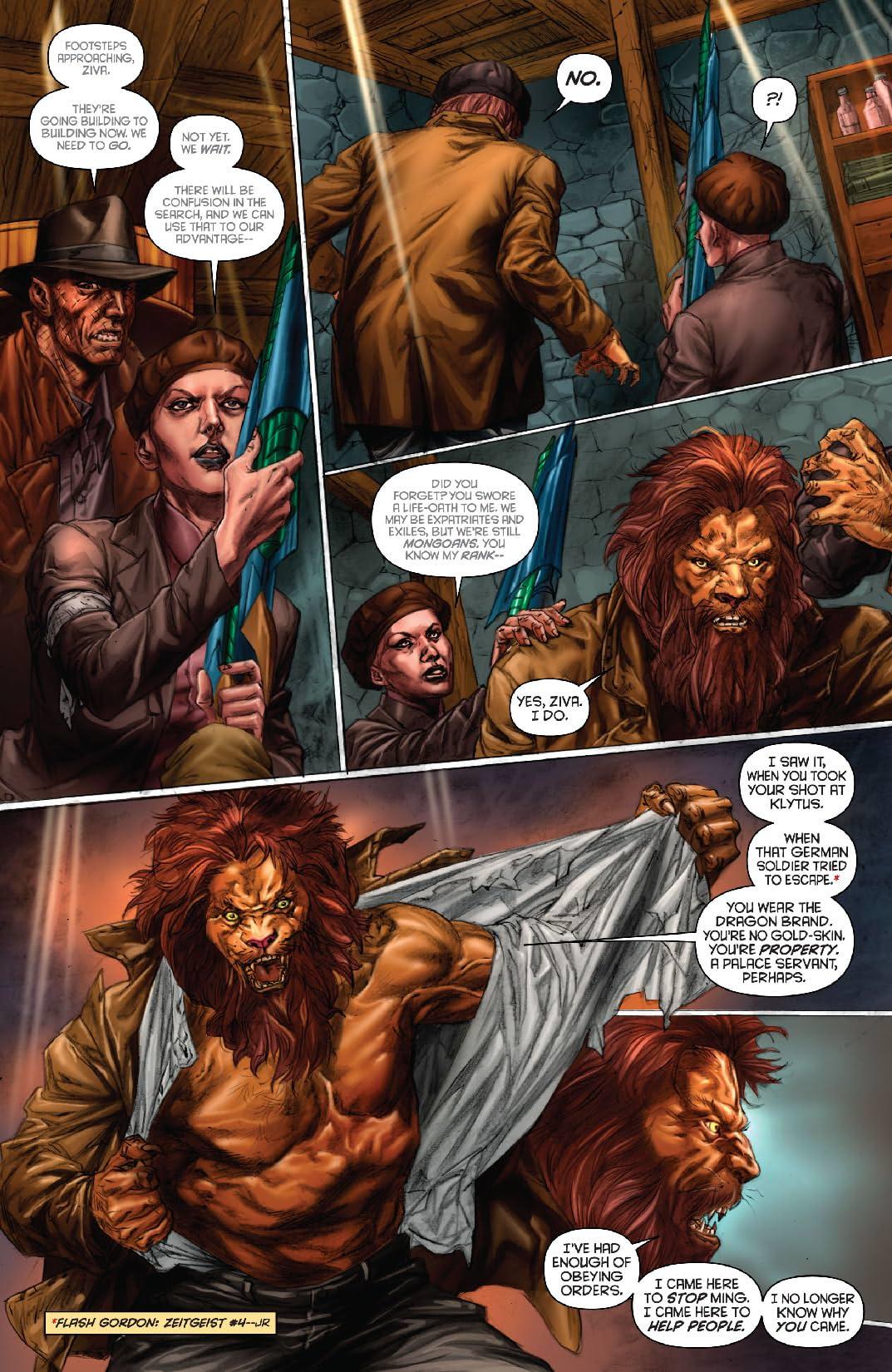 Flash Gordon: Zeitgeist #5