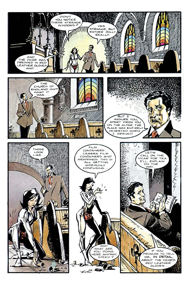 click for super-sized previews of Steed and Mrs. Peel #6 (of 6)