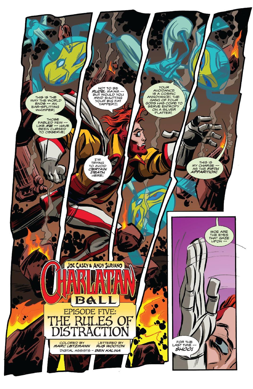 Charlatan Ball #5