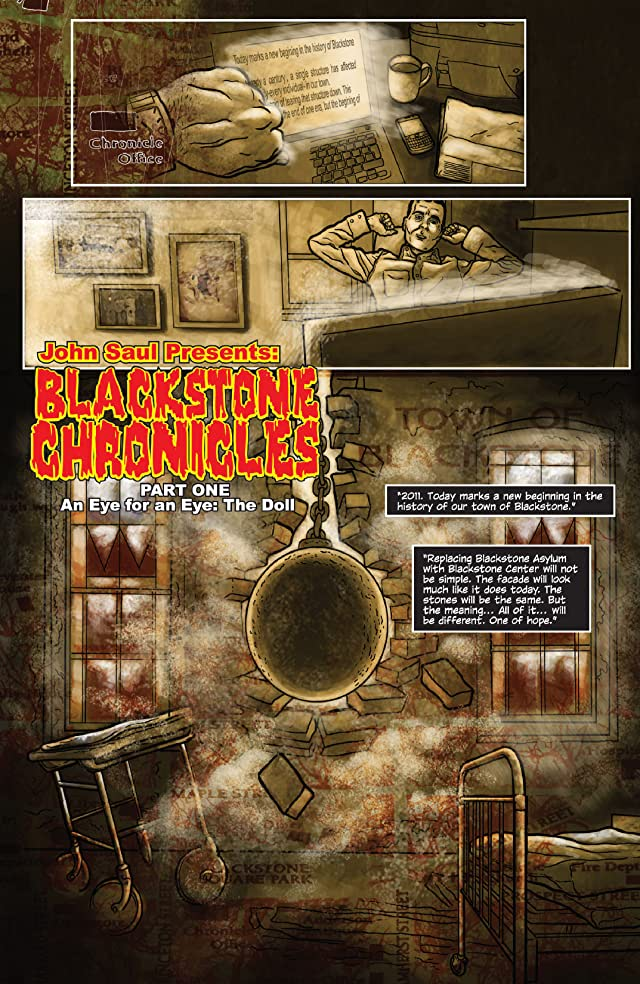 click for super-sized previews of John Saul Presents The Blackstone Chronicles #1 (of 4)