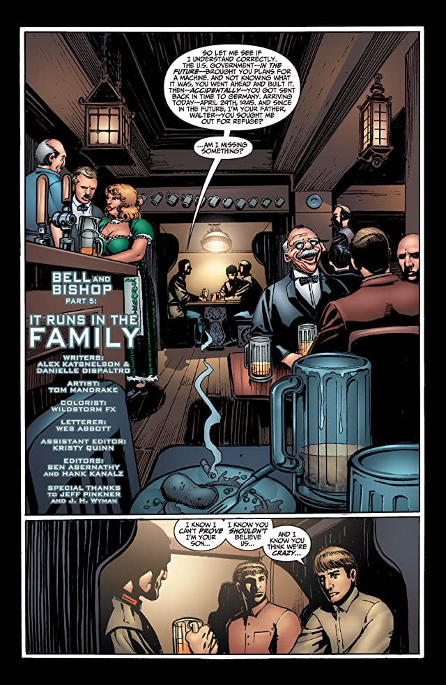 click for super-sized previews of Fringe #5