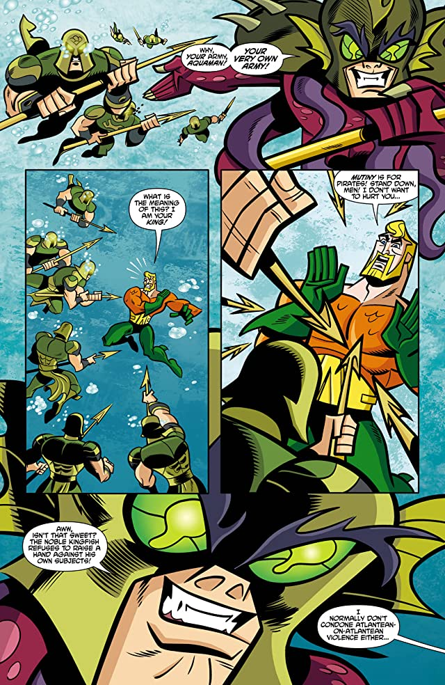 click for super-sized previews of Batman: The Brave and the Bold #22