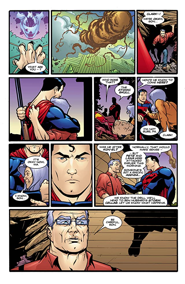 click for super-sized previews of Adventures of Superman (1986-2006) #608