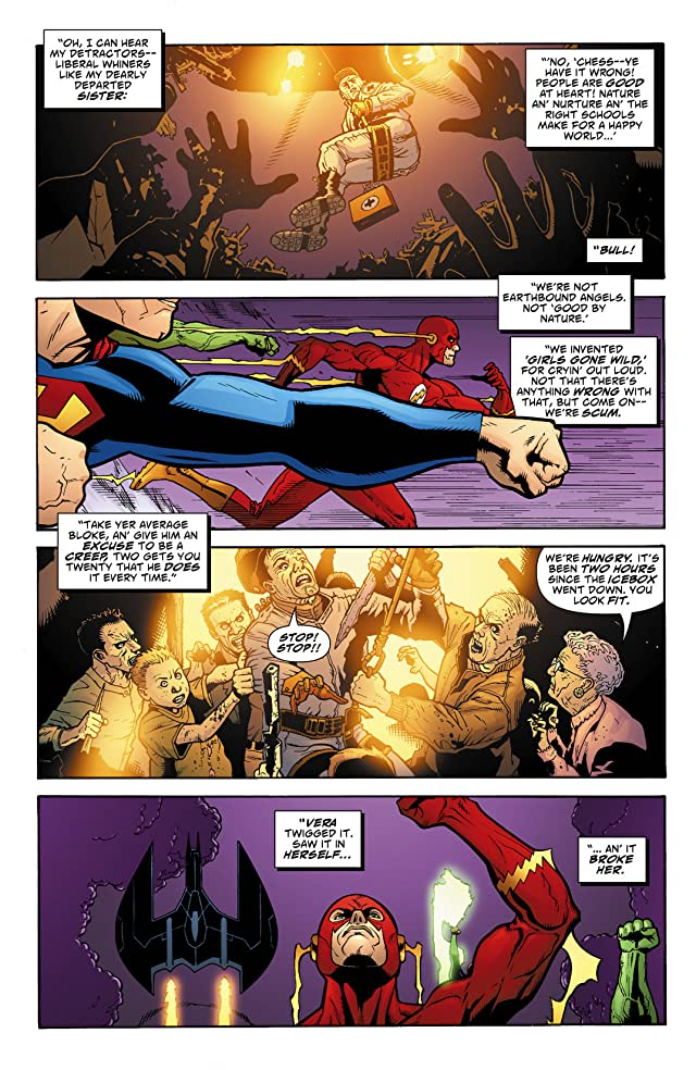 click for super-sized previews of Justice League Elite #11
