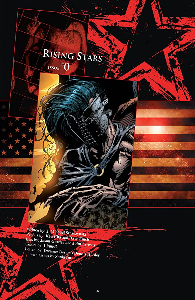 click for super-sized previews of Rising Stars #0 and Initiations: A Lost Tale of the Specials