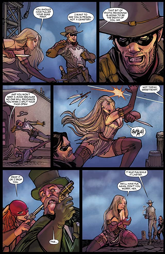 click for super-sized previews of All Star Western (2011-2014) #9