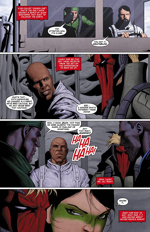 click for super-sized previews of Grifter (2011-2013) #10