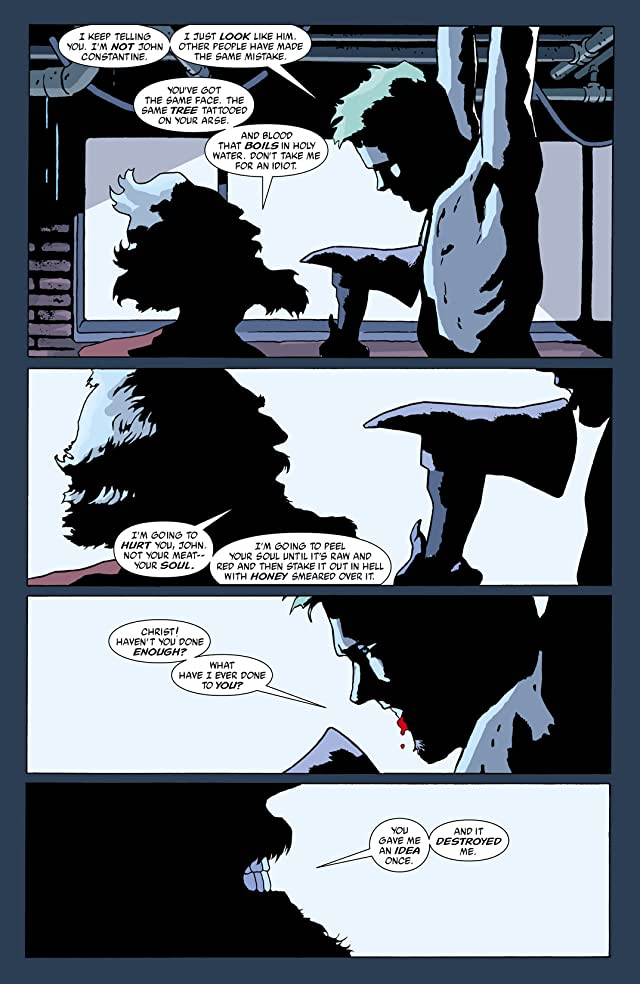 click for super-sized previews of Hellblazer #198