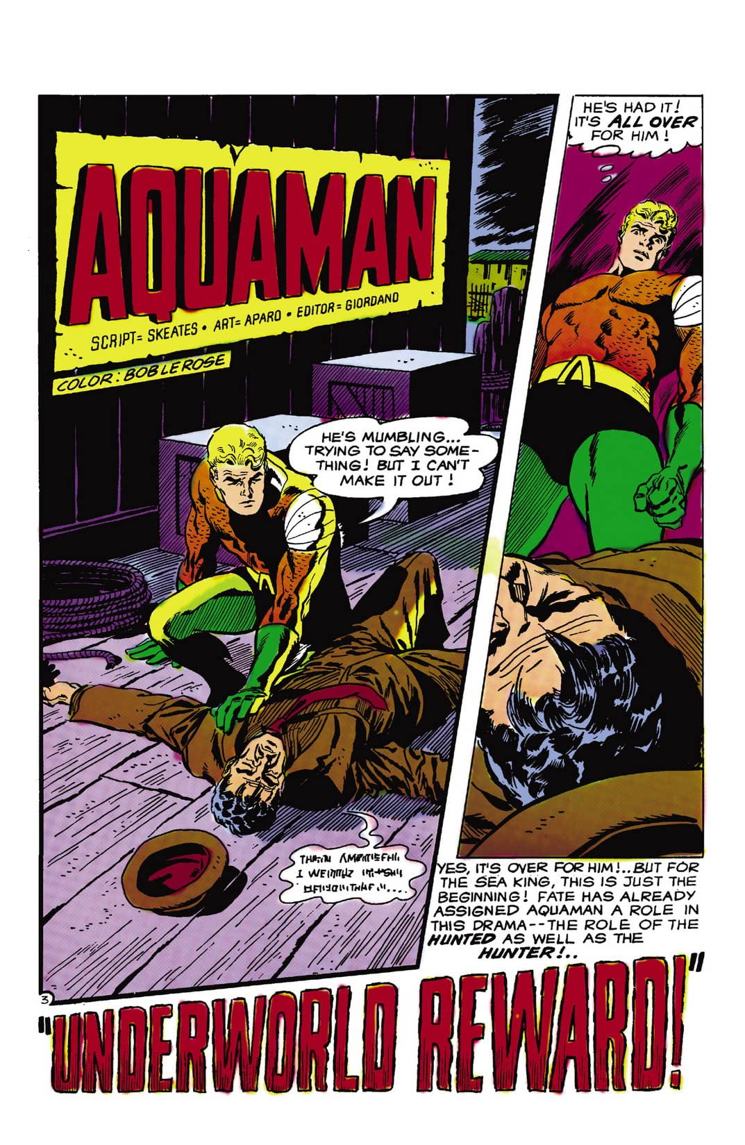 Aquaman (1962-1978) #44