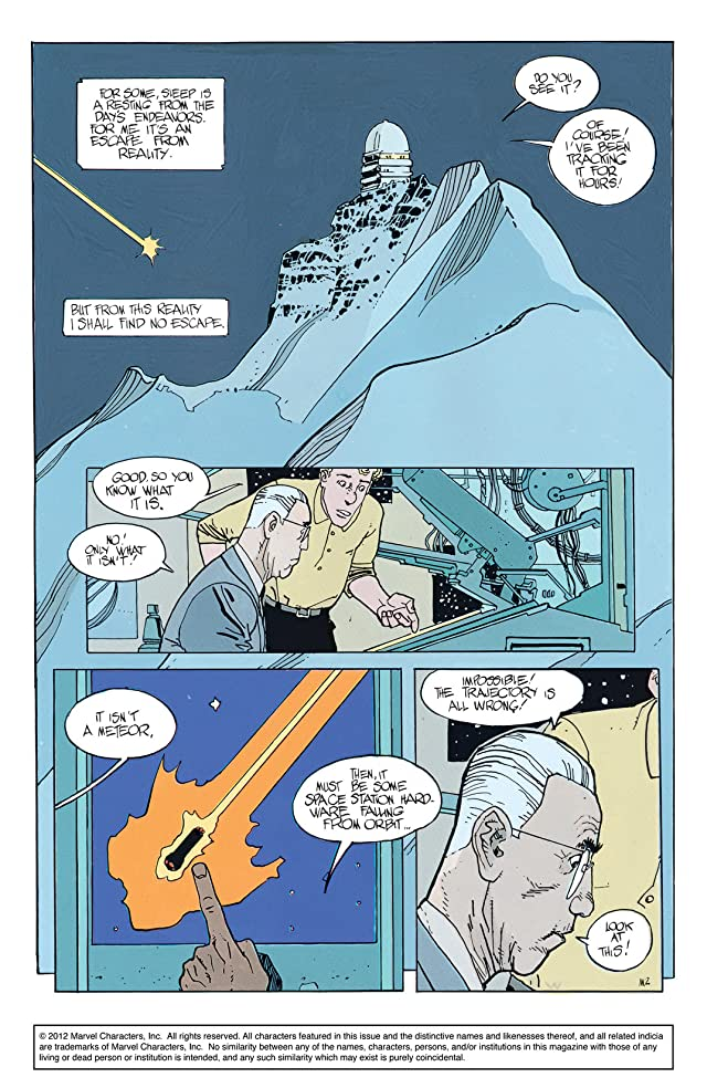 click for super-sized previews of Silver Surfer: Parable #1