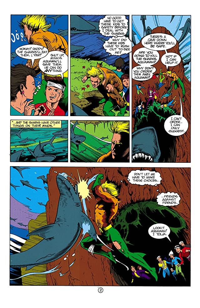 click for super-sized previews of Aquaman (1991-1992) #3