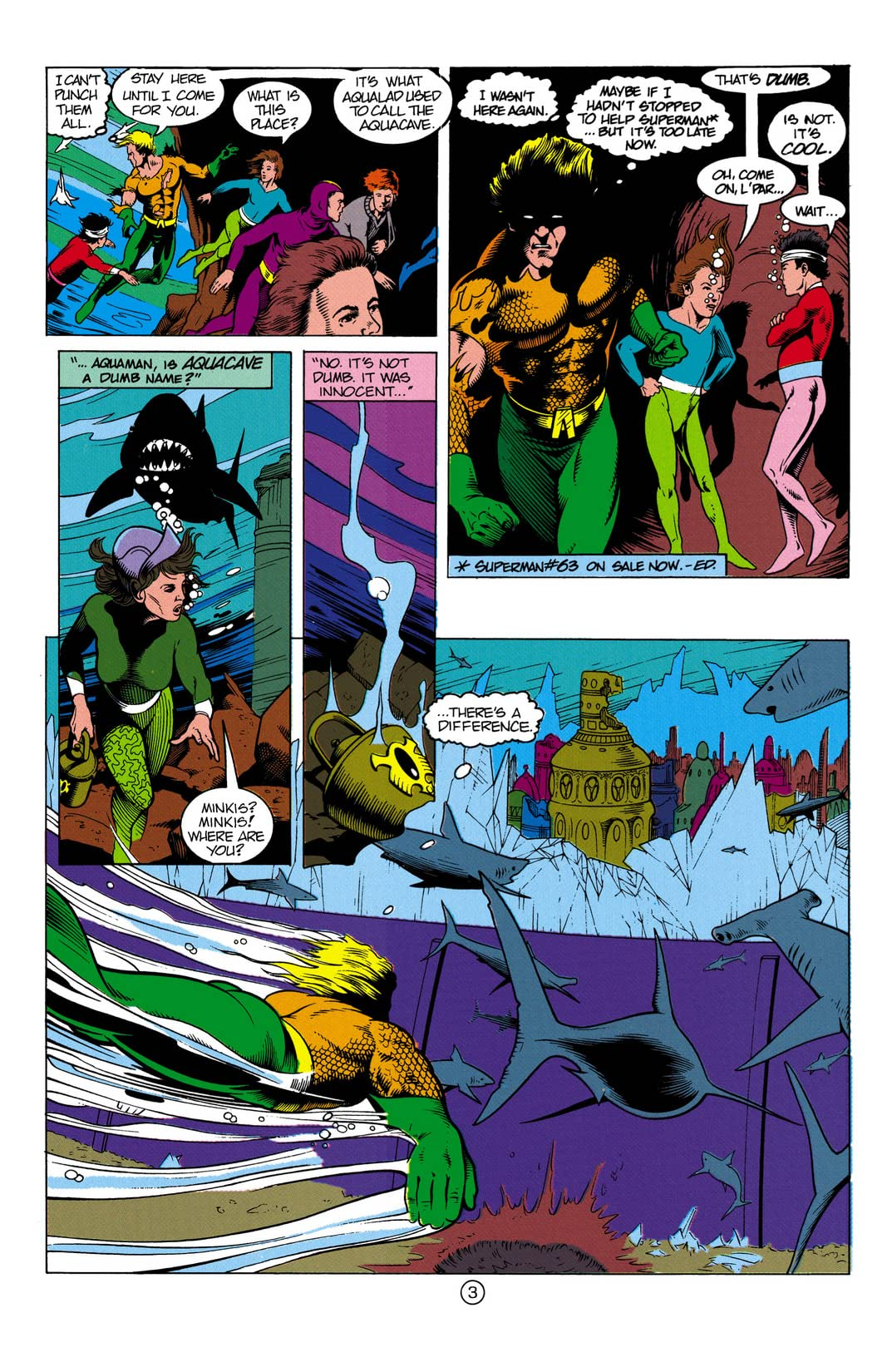 Aquaman (1991-1992) #3