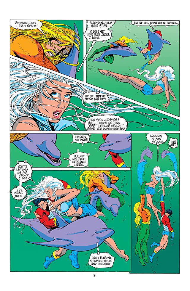 click for super-sized previews of Aquaman (1994-2001) #0