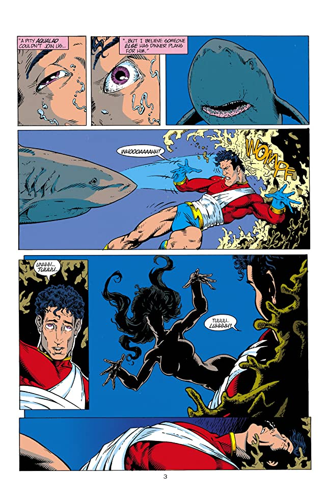 click for super-sized previews of Aquaman (1994-2001) #2