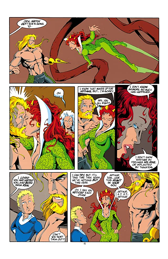 click for super-sized previews of Aquaman (1994-2001) #14