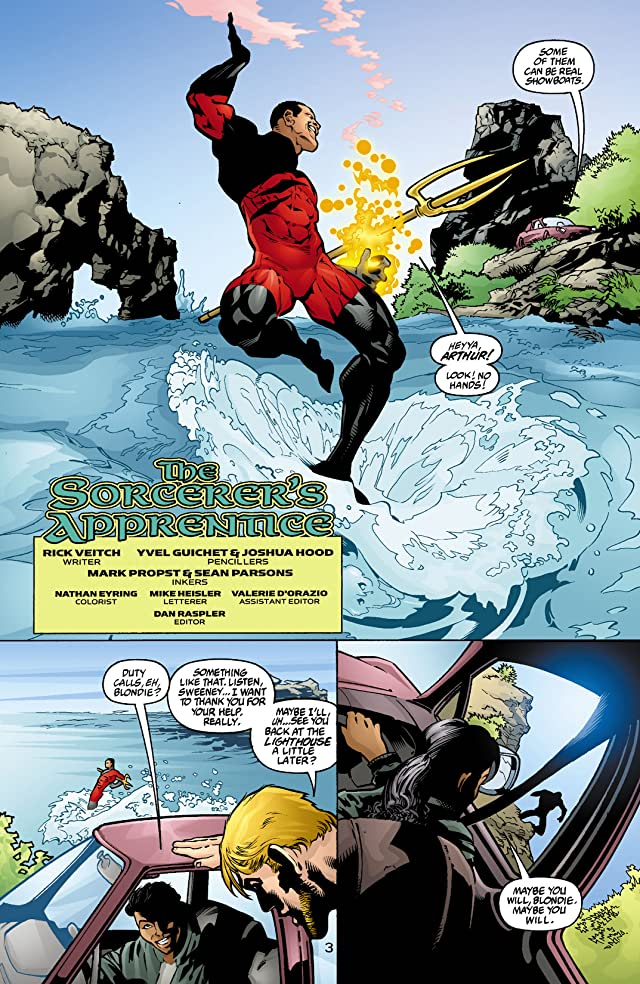 click for super-sized previews of Aquaman (2003-2006) #4