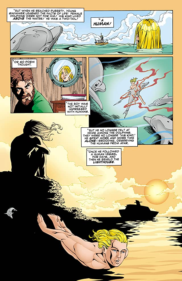 click for super-sized previews of Aquaman: Secret Files & Origins (1998) #1