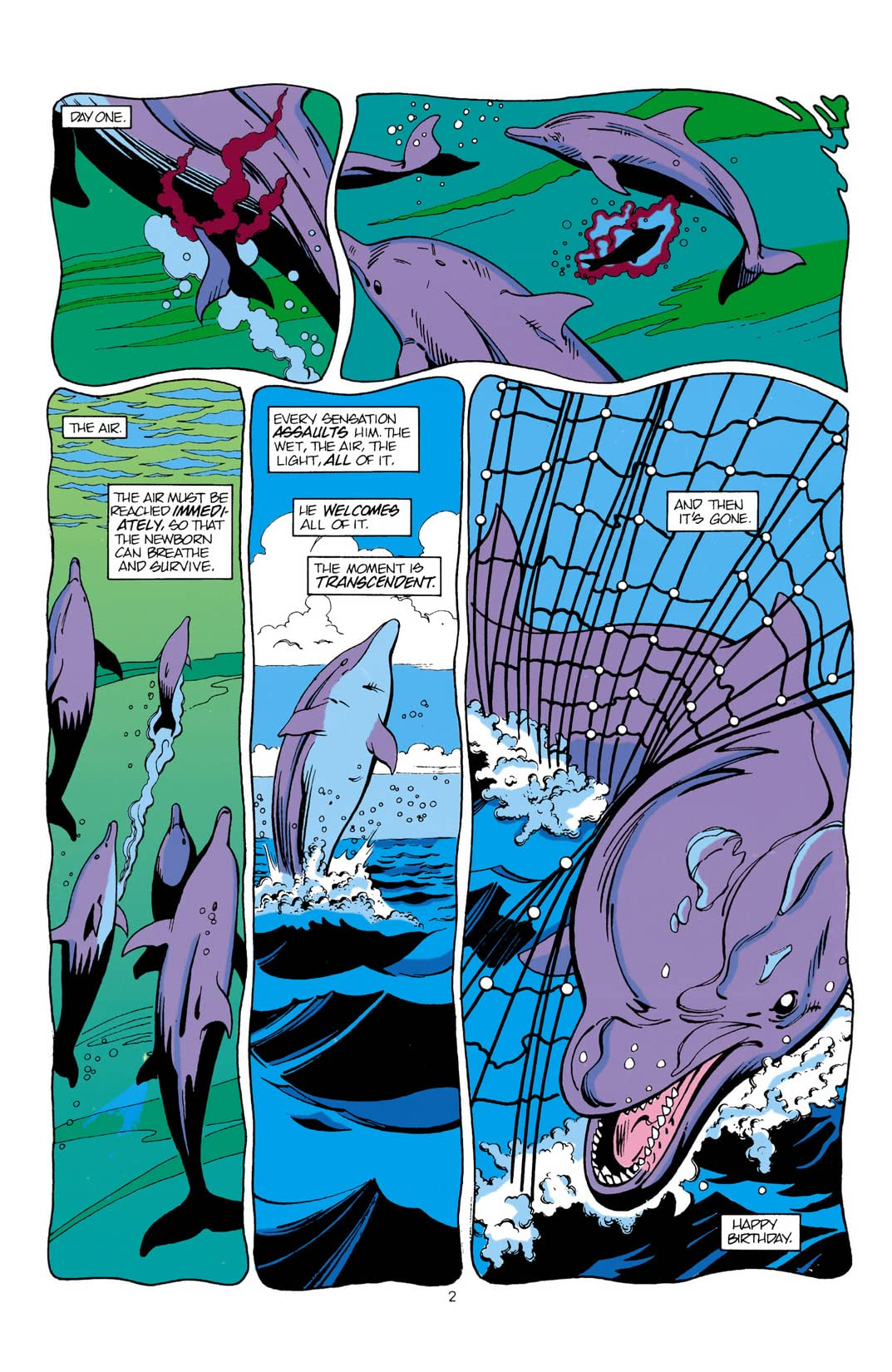 Aquaman: Time and Tide #2 (of 4)