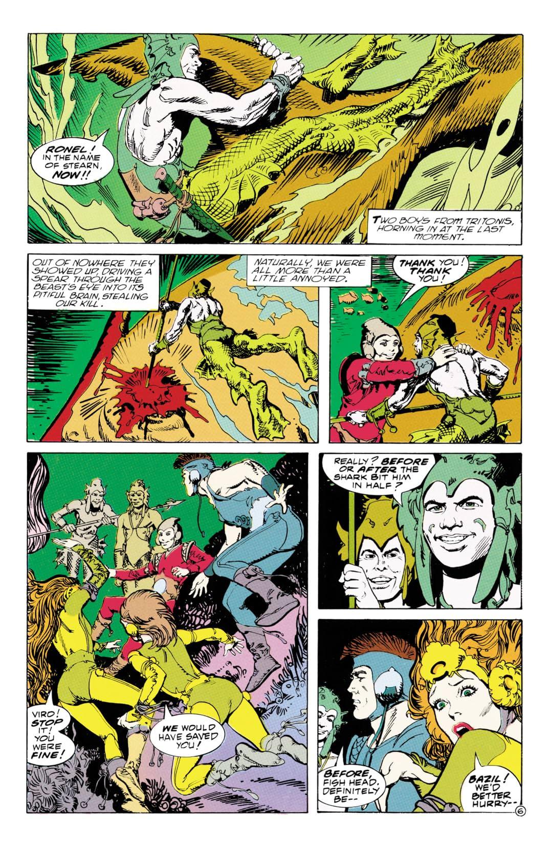 The Atlantis Chronicles #3 (of 7)