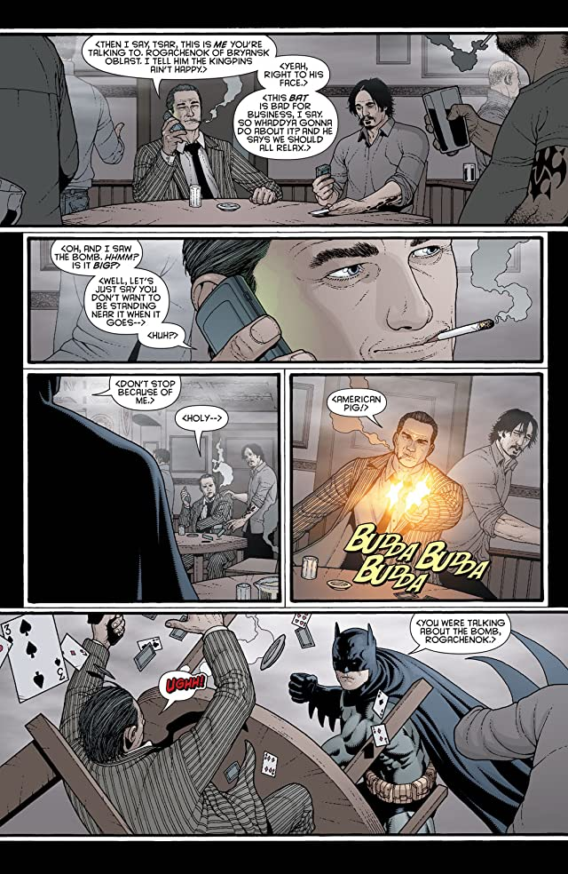 click for super-sized previews of Batman Confidential #34
