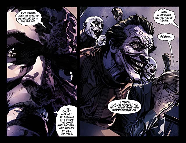 click for super-sized previews of Batman: Arkham Unhinged #31