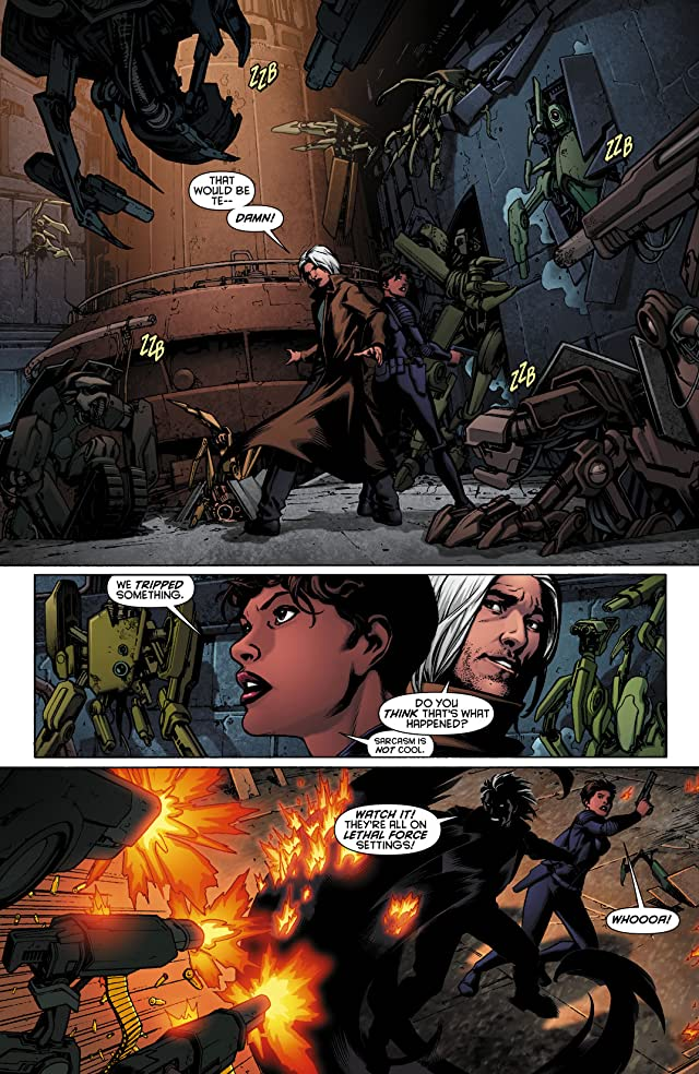 click for super-sized previews of Resurrection Man (2011-2012) #10
