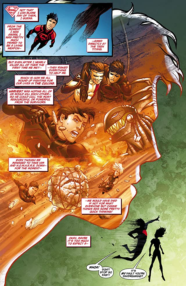 click for super-sized previews of Superboy (2011-2014) #10
