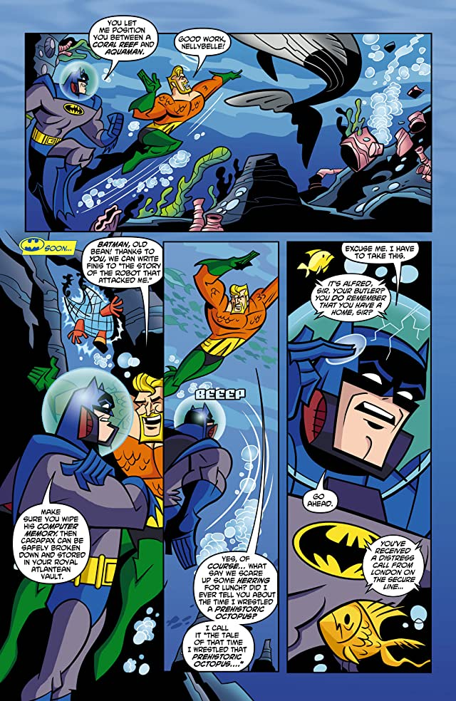 click for super-sized previews of Batman: The Brave and the Bold #1