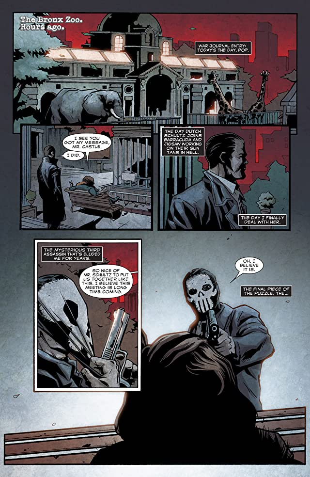 click for super-sized previews of Punisher Noir #4