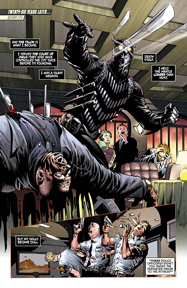 click for super-sized previews of Batman: The Dark Knight (2011-2014) #9