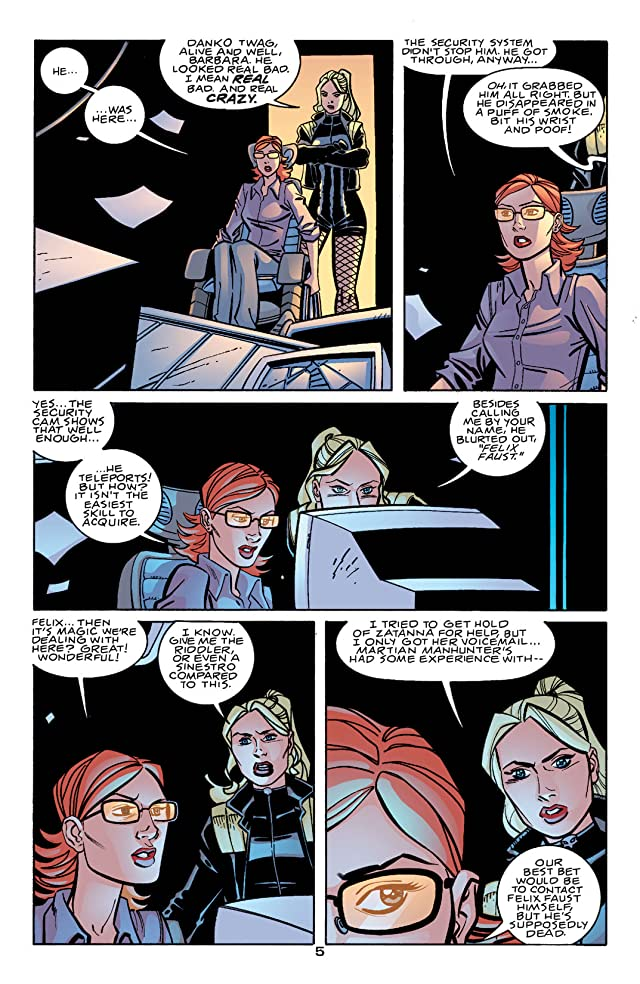 click for super-sized previews of Birds of Prey (1999-2009) #55