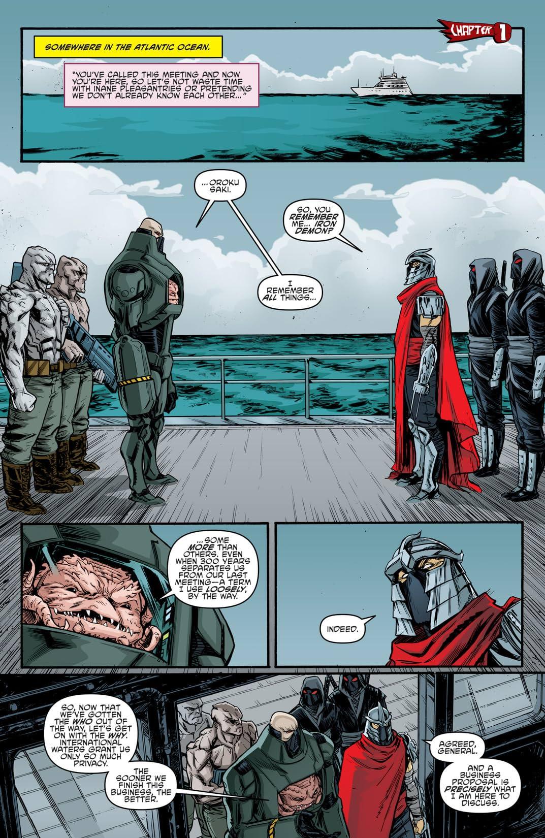 Teenage Mutant Ninja Turtles Vol. 10: New Mutant Order
